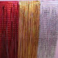 Tirai Rumbai Foil / Backdrop Foil Pesta Ulang Tahun Ukuran 2 x 1 m