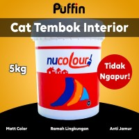 Cat tembok Interior NUCOLOUR 5kg. No ngapur