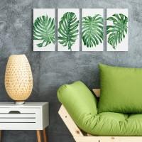 Dekorasi Kamar Rumah Ruangan Poster Kayu Tropical