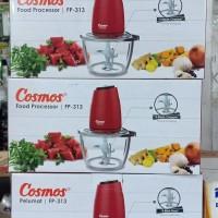 COSMOS Food Processor FP313 Blender FP 313 Turbo Knob copper daging