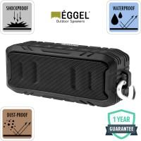 Eggel Terra 2 Waterproof Portable Bluetooth Speaker - Black