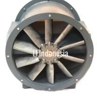 Breeza Axial fan bifurcated 24 inch (630 mm) 2200 Watt 3 HP 3 Ph