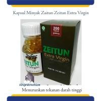 Kapsul Minyak Zaitun Extra Virgin Kapsul Zeitun @200 Herbal Hipertensi