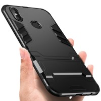 Hard Case Hybrid Armor Shockproof Stand Casing Xiaomi Redmi Note 5 Pro
