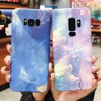 Casing Hard Case Warna Ungu Matte untuk Samsung Note 9 8 S9 S8 Plus S7