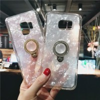 Casing Soft Case Samsung GalaxyS9 S8 Plus S7 Edge Note 9 8 Ring Holder