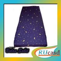 sarung kasur busa 120x200x15 no.3 motif bulan bintang