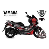 DECAL STICKER MOTOR YAMAHA NMAX SAMURAI EDITIONS