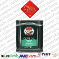 minyak zaitun sasso 175ml kaleng olive oil ml