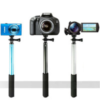 Tongsis Monopod Round Mount for Action Camera GoPro / Xiaomi Yi