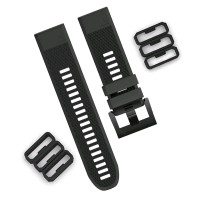 Fastener Ring Silicone for GARMIN FENIX 5 FENIX 5 PLUS Strap 22mm