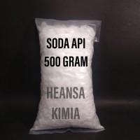 SODA API / CAUSTIC SODA / NAOH 500 GRM