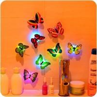 Lampu Kupu Led Dekorasi Kamar Butterfly Night Light Lampu Kamar Tidur