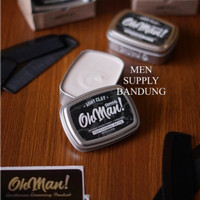 Pomade Oh Man Army Clay 85 Gram Professional Matte FREE SISIR