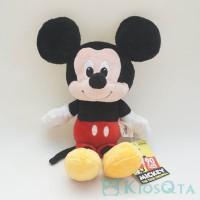 boneka mickey mouse sitting small original disney new
