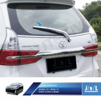 JSL Cover Wiper Avanza Xenia Veloz 2019 Wiper Cover Chrome