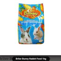 Briter Bunny Carrot / Brocoli 1kg Makanan Kelinci Pelet Wortel/Brokoli