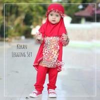 Kikan Legging Set - Baju Muslim Balita - Setelan Baju Batik Anak 3-4th