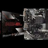 ASRock B450M-HDV (AM4, AMD Promontory B450, DDR4, USB3.1, SATA3)