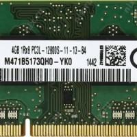 ORIGINAL RAM DDR 3 Samsung 4GB PC3-12800 DDR3-1600 SODIMM