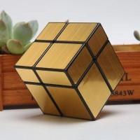 Rubik 2x2 Qiyi Mirror 2x2 Black Gold