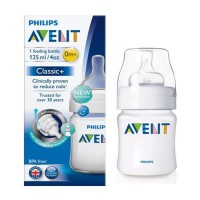 Botol Susu Philips Avent Classic+ 125ml (1pcs) Feeding Bottle Nursing