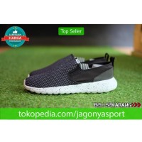 Sepatu Sneakers Adidas Neo Cloudfoam Lite Racer Slip On Original