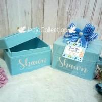 souvenir baby, souvenir wedding tissue box
