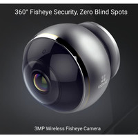 EZVIZ C6P ez360 3MP Mini Pano Panoramic 360 View Fisheye CCTV IP WiFi