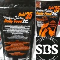 voer ams american selection gold 35 2nd step 250 gr kasat murai batu