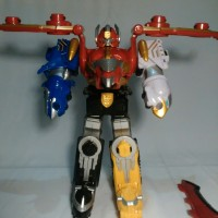 [JUAL MEGAZORD] Gosei Great Megazord | Power Rangers Megaforce