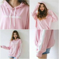 Sweater hodie Cnythnk 1985 bhn baby terry fit L 2 warna