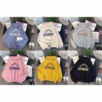 Sweater|jaket hodie CENTER STINGERS bahan babyterry fit L