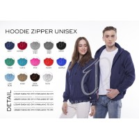 CARTEXBLANCHE HOODIE ZIPPER UNISEX SIZE M - XXL