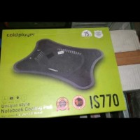 COOLING PAD COLD PLAYER IS770 USB COOLER NETBOOK FAN KIPAS PENDINGIN