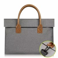 Tas Laptop Macbook Softcase with Extra Longstrap 15-15.6 inch - Hitam