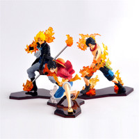Action figure ASL One Piece Ace Sabo Luffy Brotherhood attack styling