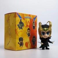Action figure cosbaby Loki Thor ragnarok Avengers Marvel bobble head