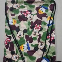 drawstring bag/tas serut