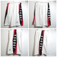 Celana Basket Nike Jordan TAKE OVER PUTIH - MERAH HITAM GRADE ORIGINAL