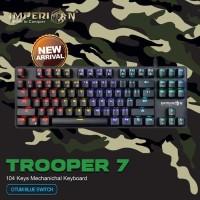 Keyboard Gaming Imperion Trooper 7 KG-M07F Mechanical, RGB like MECH 7