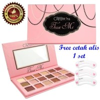 BEAUTY CREATIONS TEASE ME Eyeshadow Palette 18 Color + Free Cetak Alis
