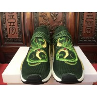 Sepatu ADIDAS NMD Human Race X Dragon Ball Z Shenron Green Perfect