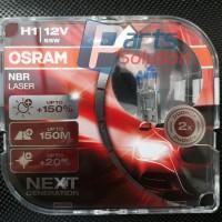 Bolam Lampu Jauh High Beam Ford Fiesta - Focus 2.0 OSRAM H1 NBR LASER