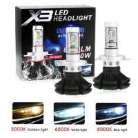 Dijual Lampu LED H4 X3 Philp ZES Lumiled Chips 3 colour Diskon