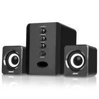 SADA D-202 Speaker Stereo 2.1 with Subwoofer & USB Power