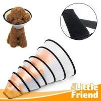 Corong/Cone Pelindung Penutup Leher Kepala Anjing/Pet Protection Cover