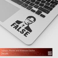Decal Sticker False Jobs Code Programmer Cutting Macbook Laptop Stiker