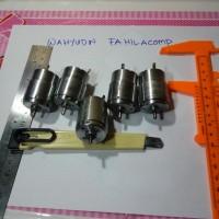 Dinamo motor DC 8v - 24v As 3mm mini drill bor mini grinder ex printer
