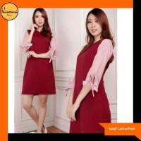 Terlaris Baju Mini Dress Wanita 515 - Atasan Wanita 515 - Hitam